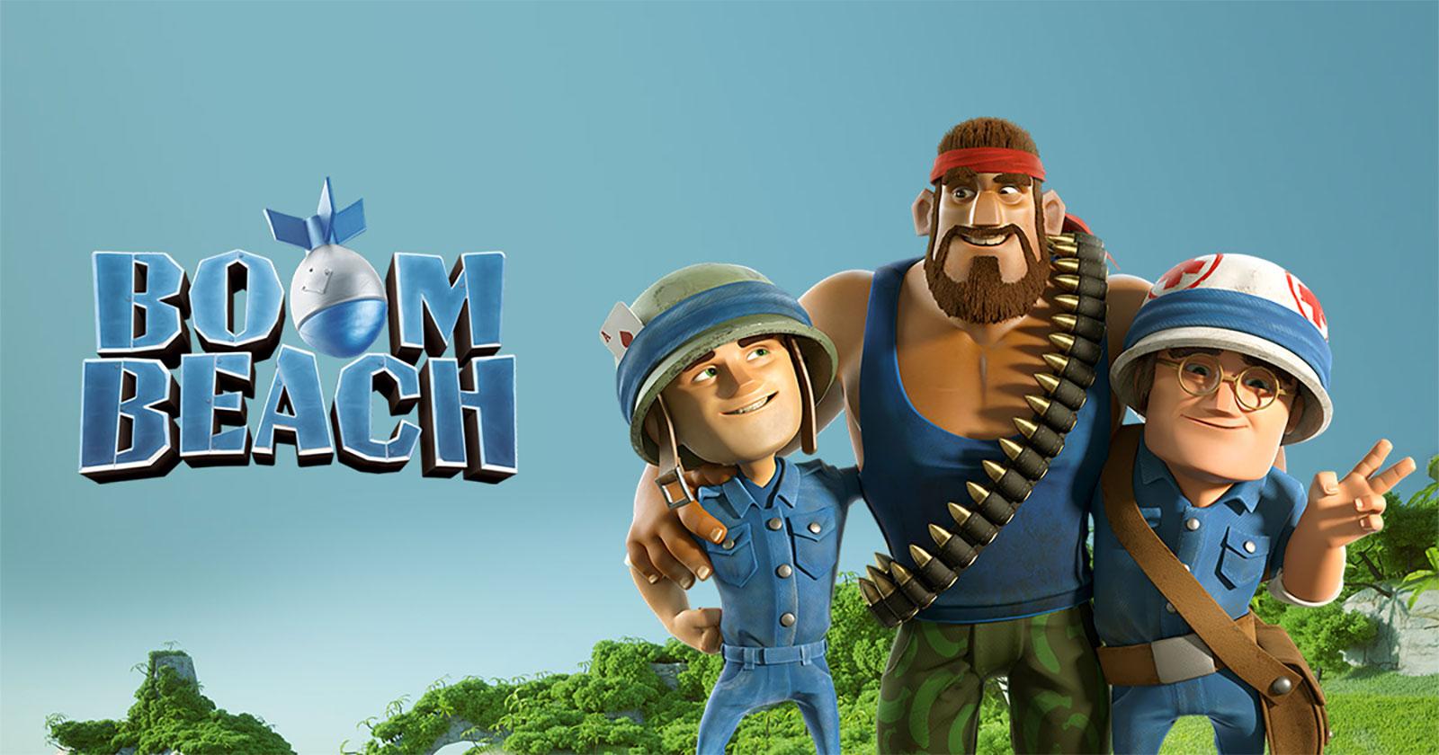 Boom Beach Mod Apk