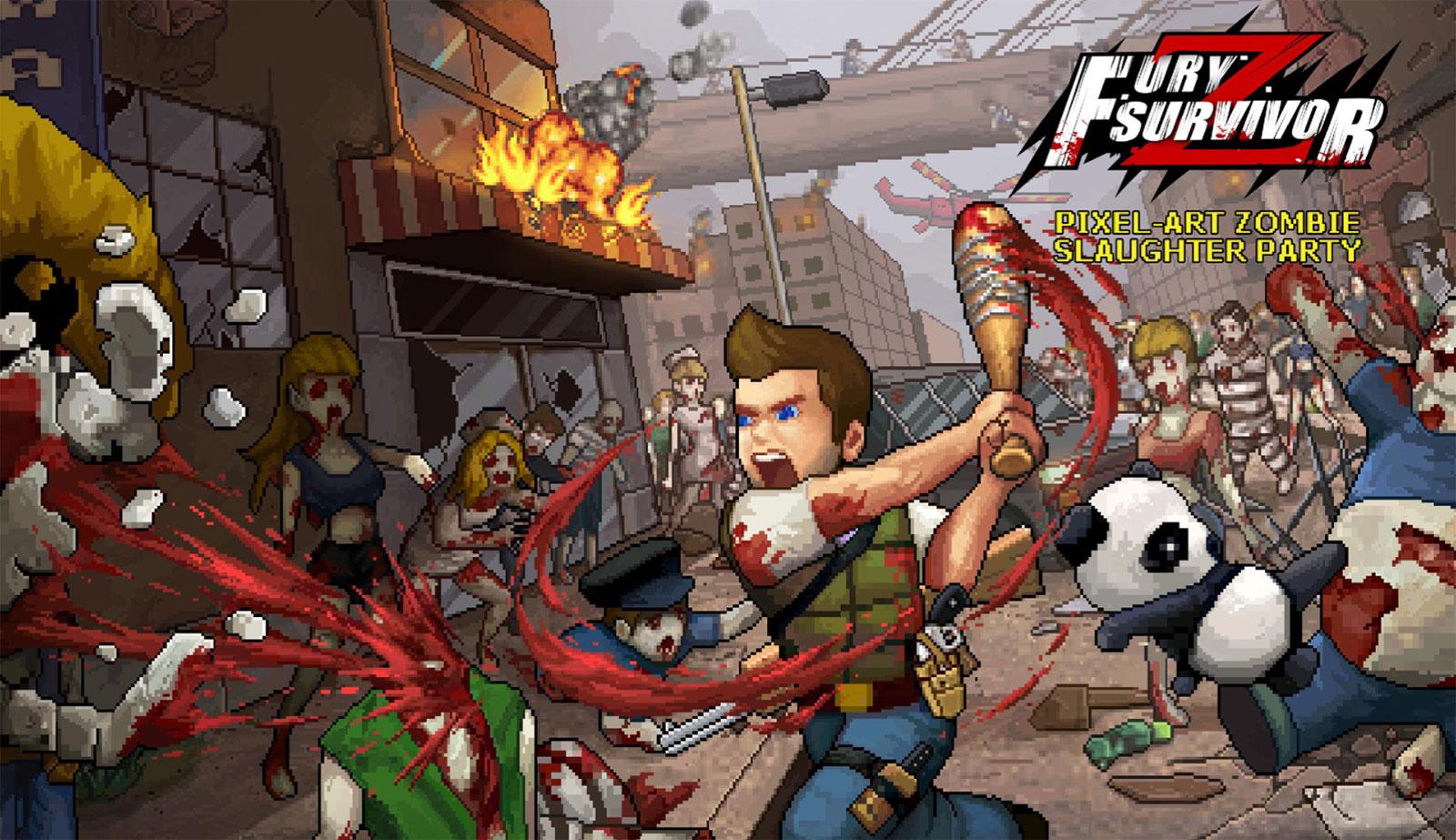 Fury Survivor Pixel Z Mod Apk