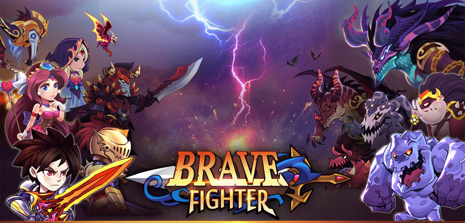 brave fighter mod apk