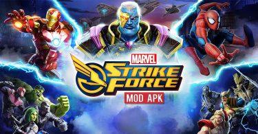 marvel strike force mod apk