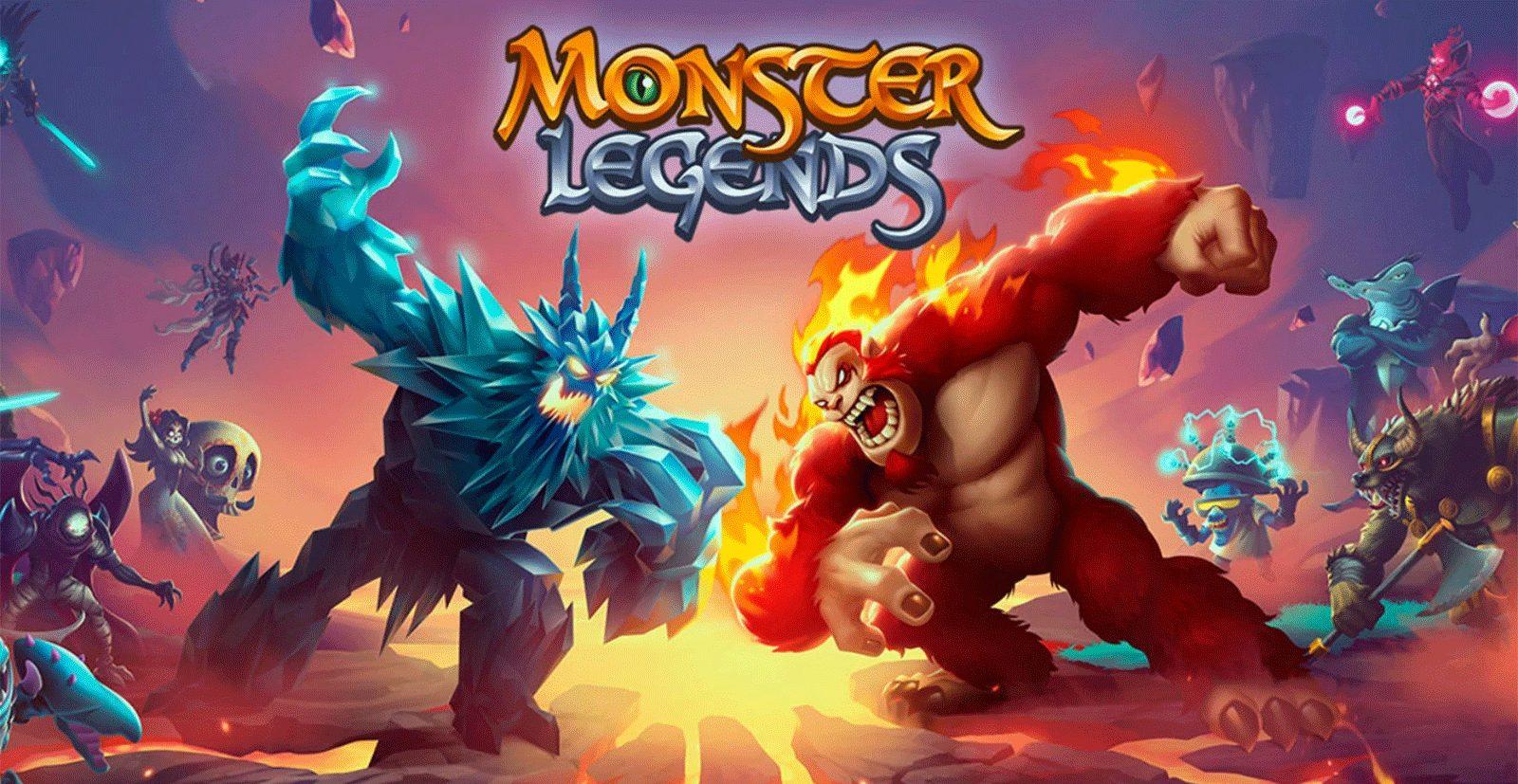 monster legends mod apk