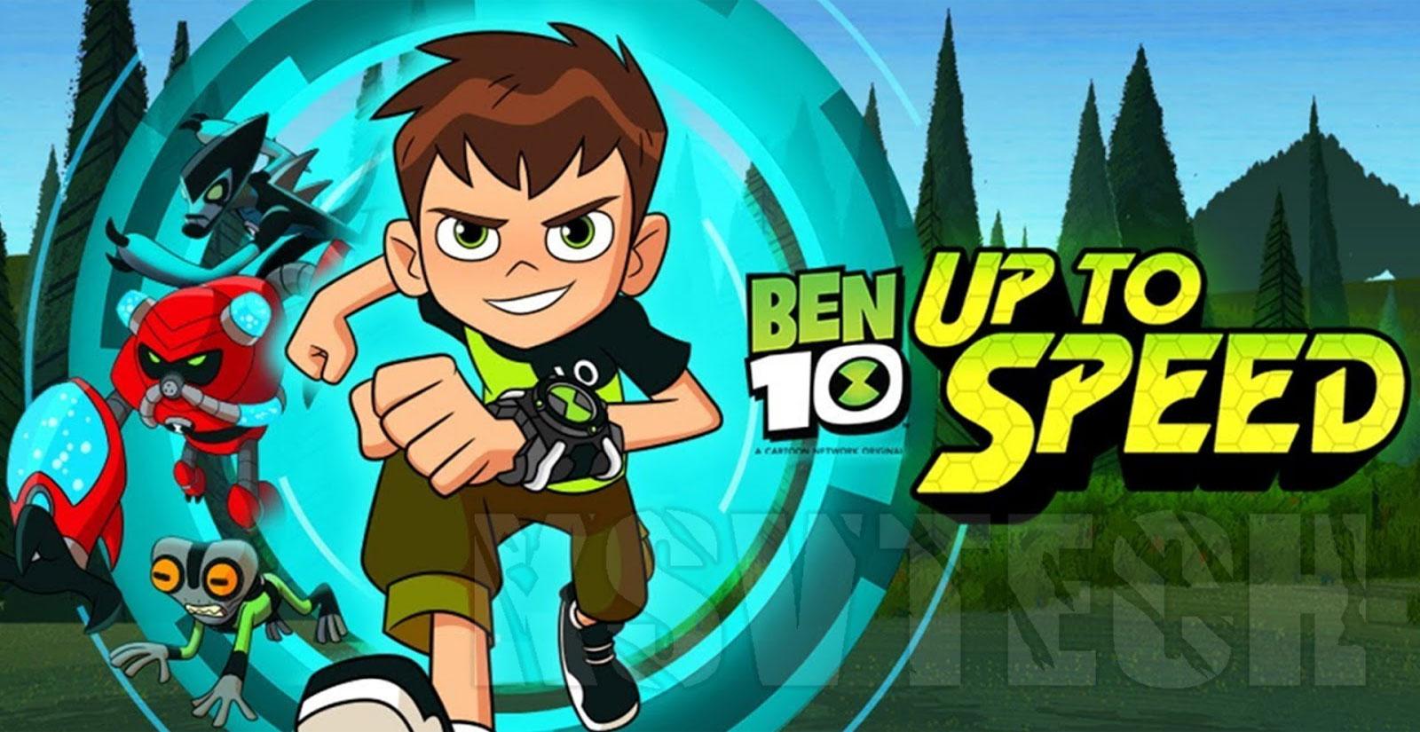 ben 10 up to speed mod apk