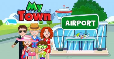 my town airport mod apk