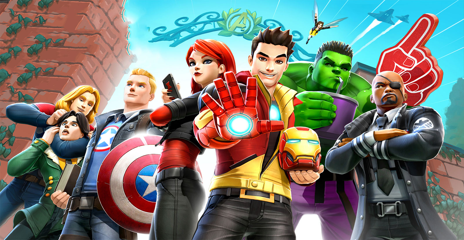avengers academy mod apk