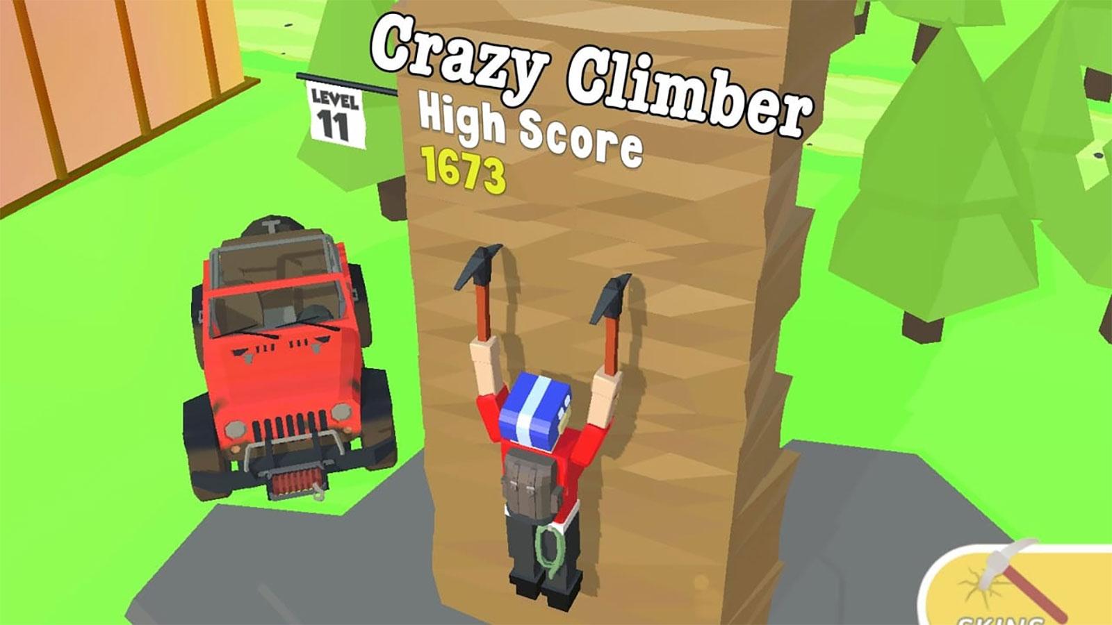 crazy climber mod apk