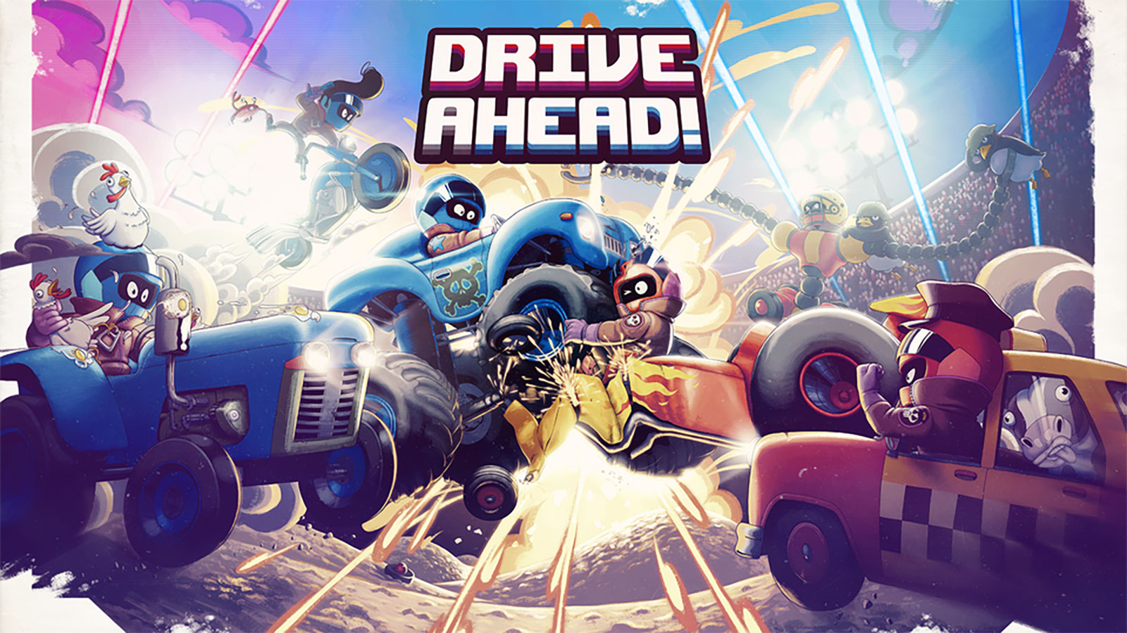 Drive Ahead Mod Apk