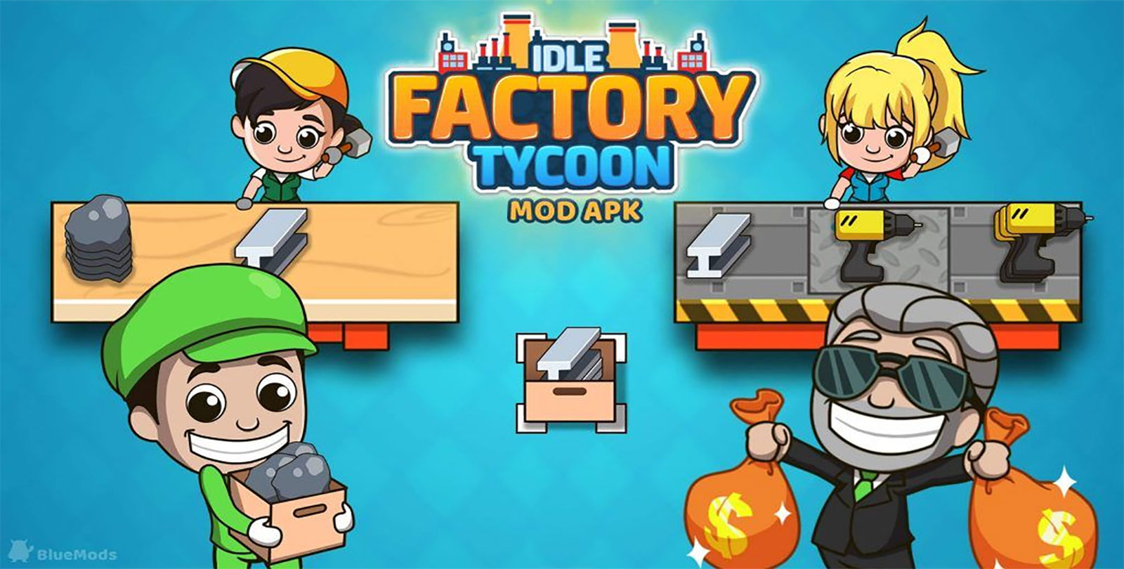 Idle Factory Tycoon Mod Apk