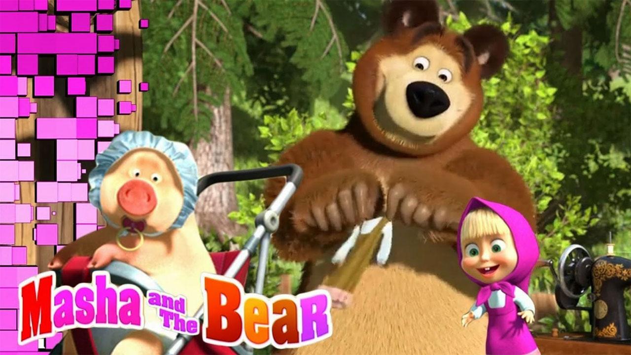 Masha and the Bear Educational Games Mod Apk