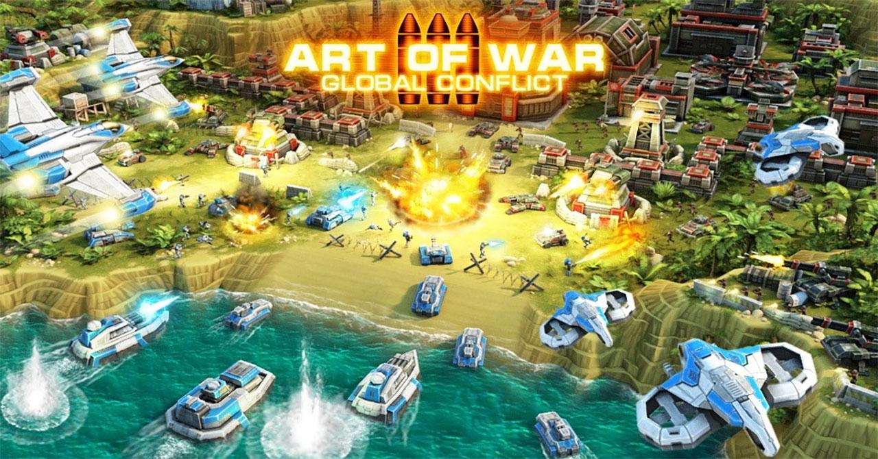 Art Of War 3 Modern PvP RTS Mod Apk