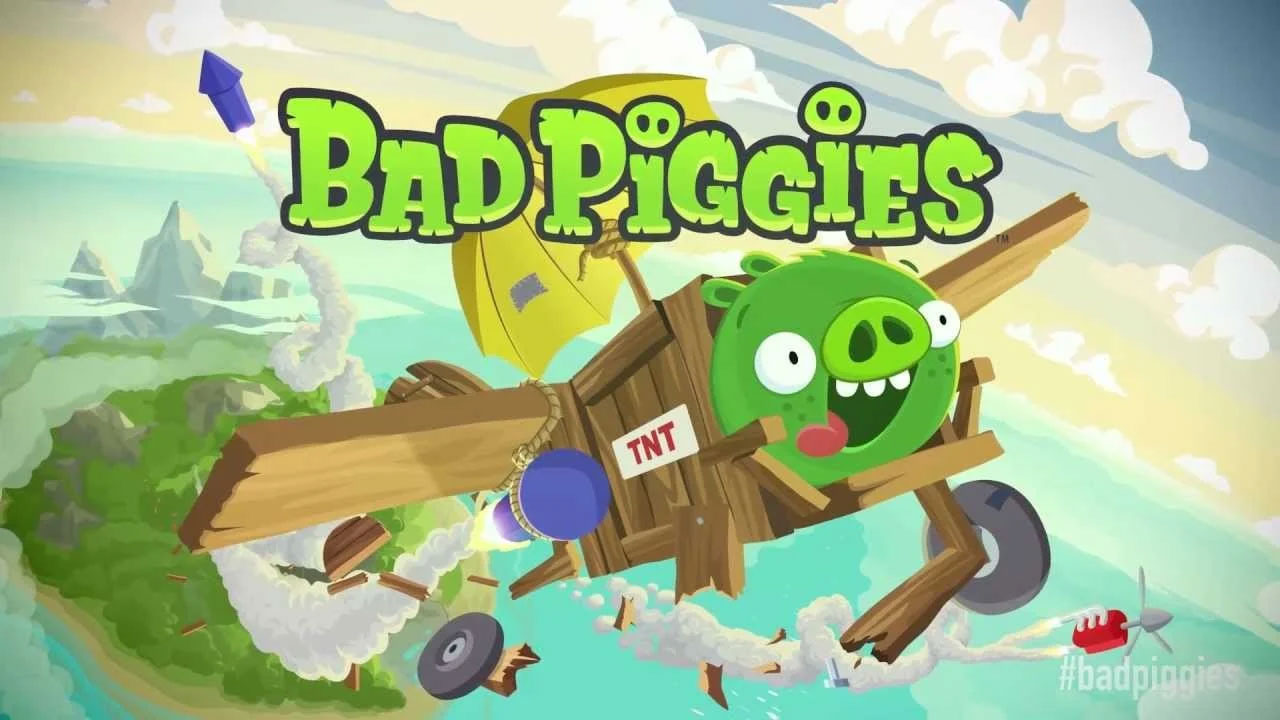 Bad Piggies Cover Wallpaper