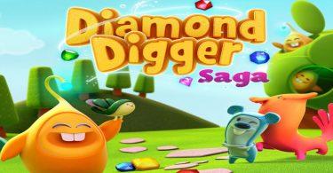 Diamond Digger Saga Apk Cover