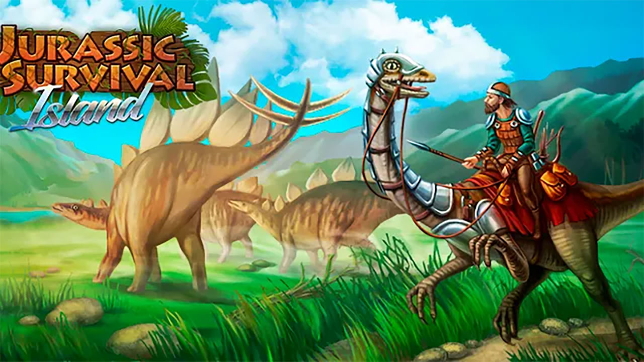 Jurassic Survival Island Cover