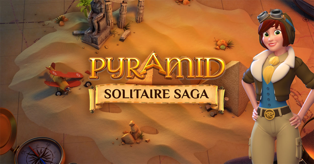 Pyramid Solitaire Saga Mod Apk Cover
