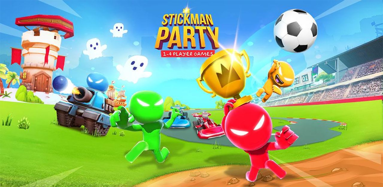 Stickman Party 1 2 3 4 Player Games Free Mod Apk