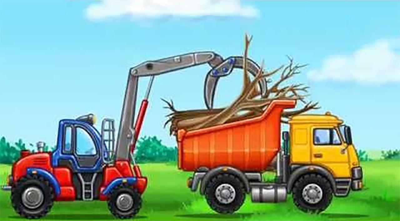 Truck games for kids - build a house, car wash Mod Apk