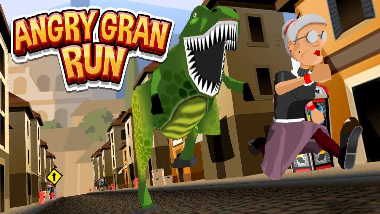 Angry Gran Run - Running Game Mod Apk