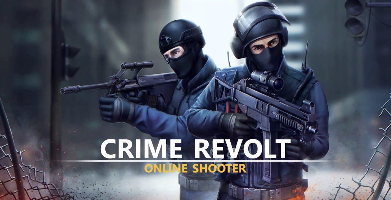 Crime Revolt - Online FPS PvP Shooter Mod Apk