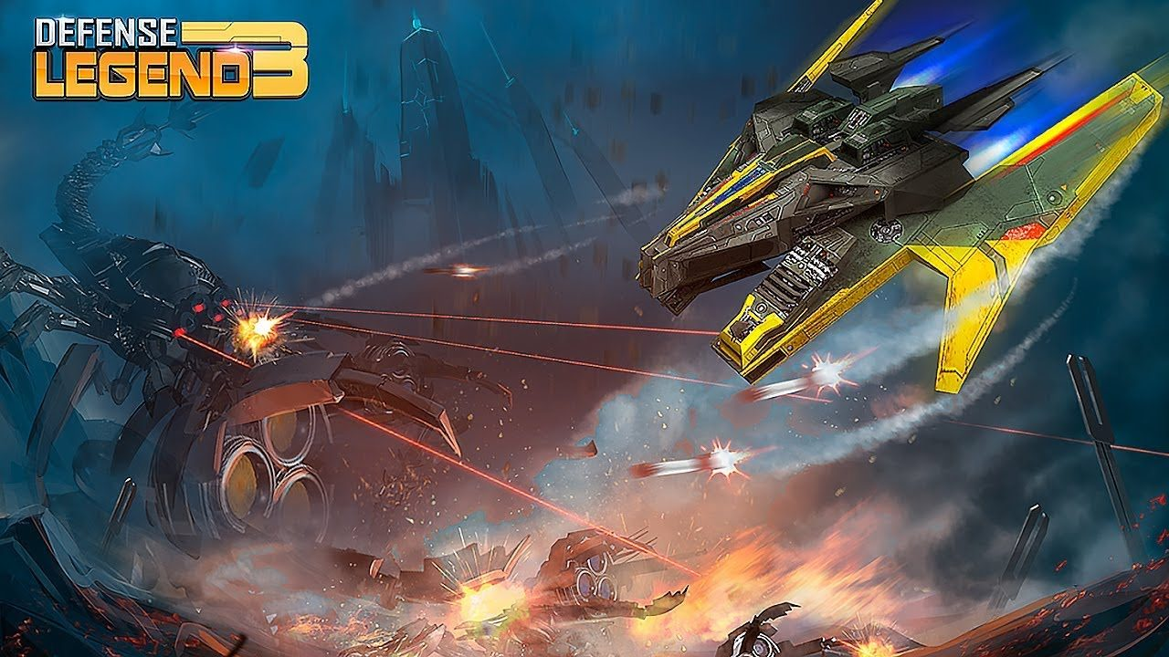 Defense Legend 3 Future War Mod Apk
