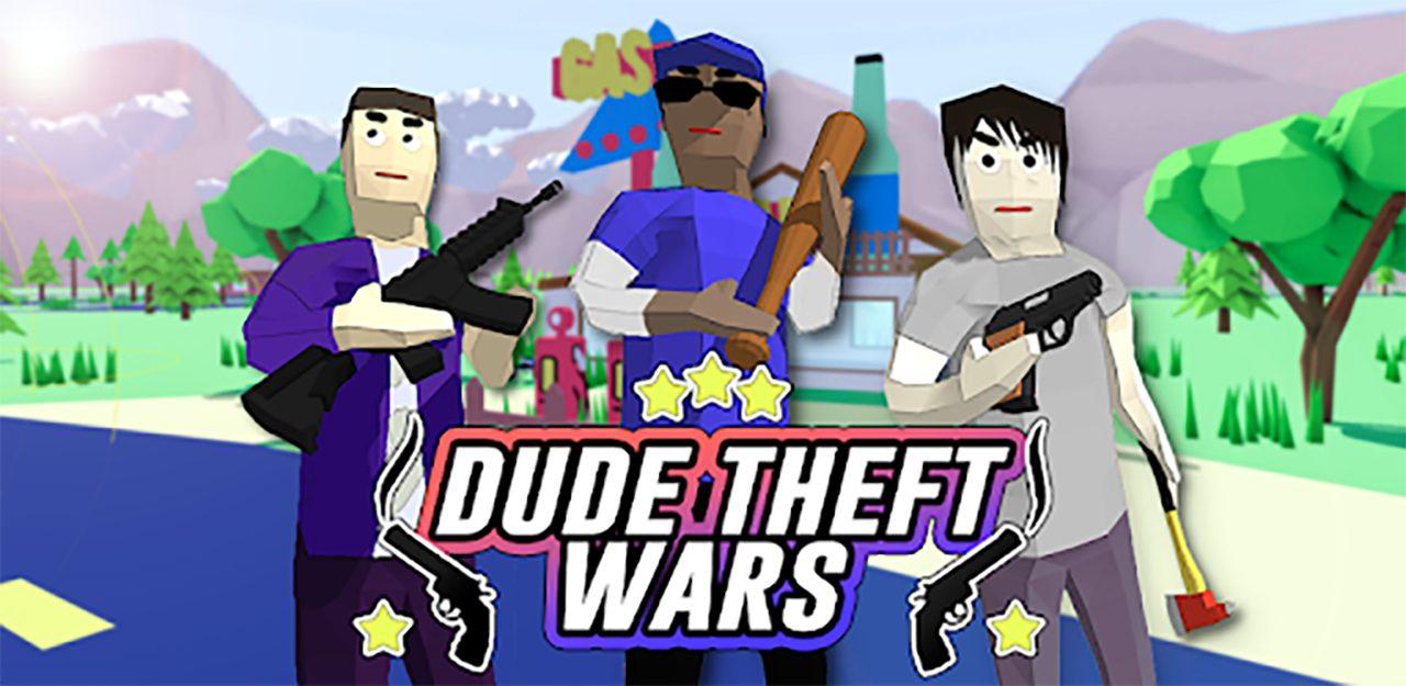 Dude Theft Wars Open World Sandbox Simulator BETA Mod Apk