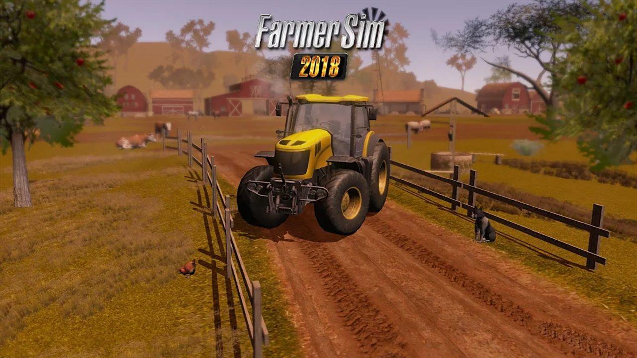 Farmer Sim 2018 Mod Apk