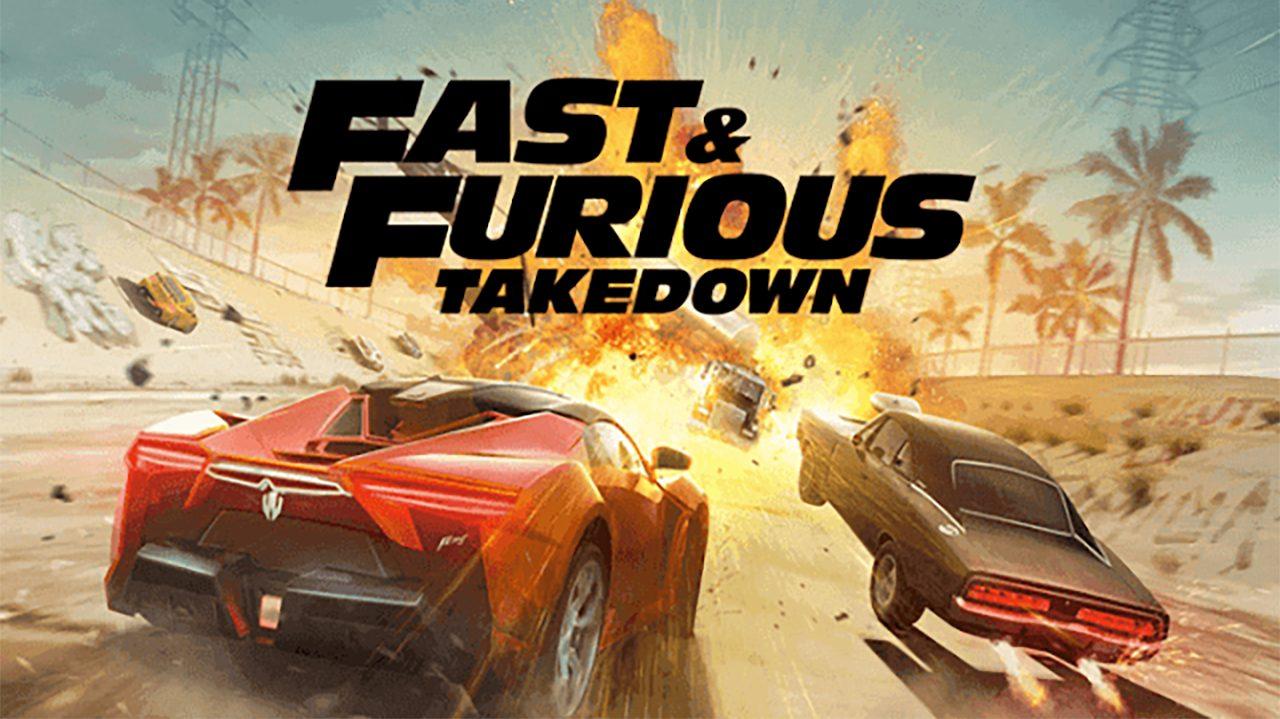 Fast & Furious Takedown Mod Apk