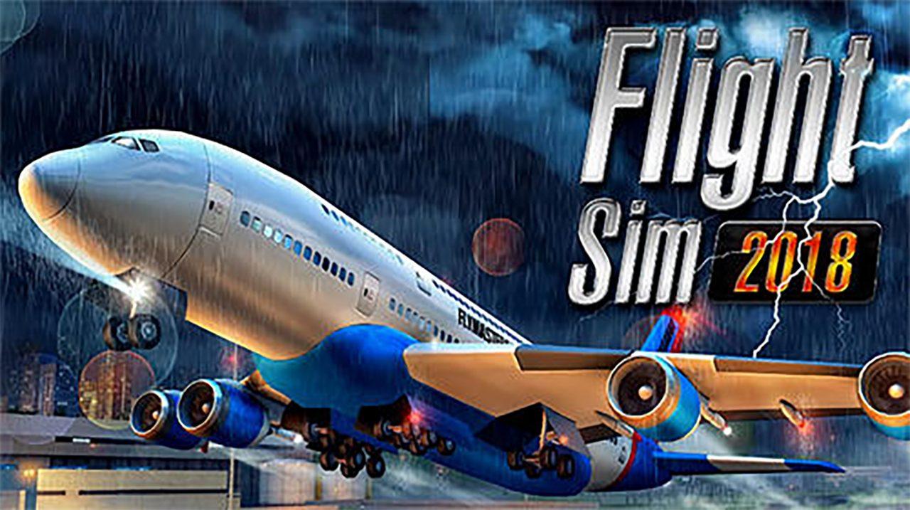 Flight Sim 2018 Mod Apk