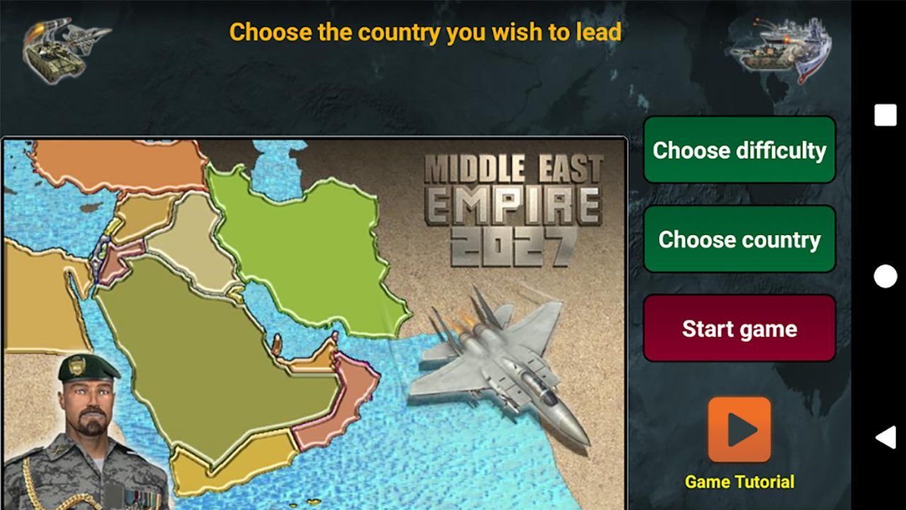 Middle East Empire 2027 Mod Apk