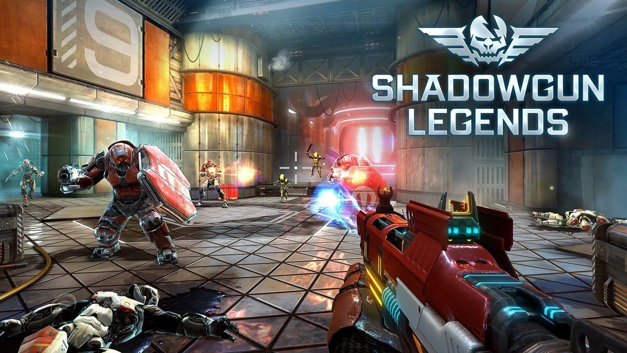SHADOWGUN LEGENDS - FPS and PvP Multiplayer games Mod Apk