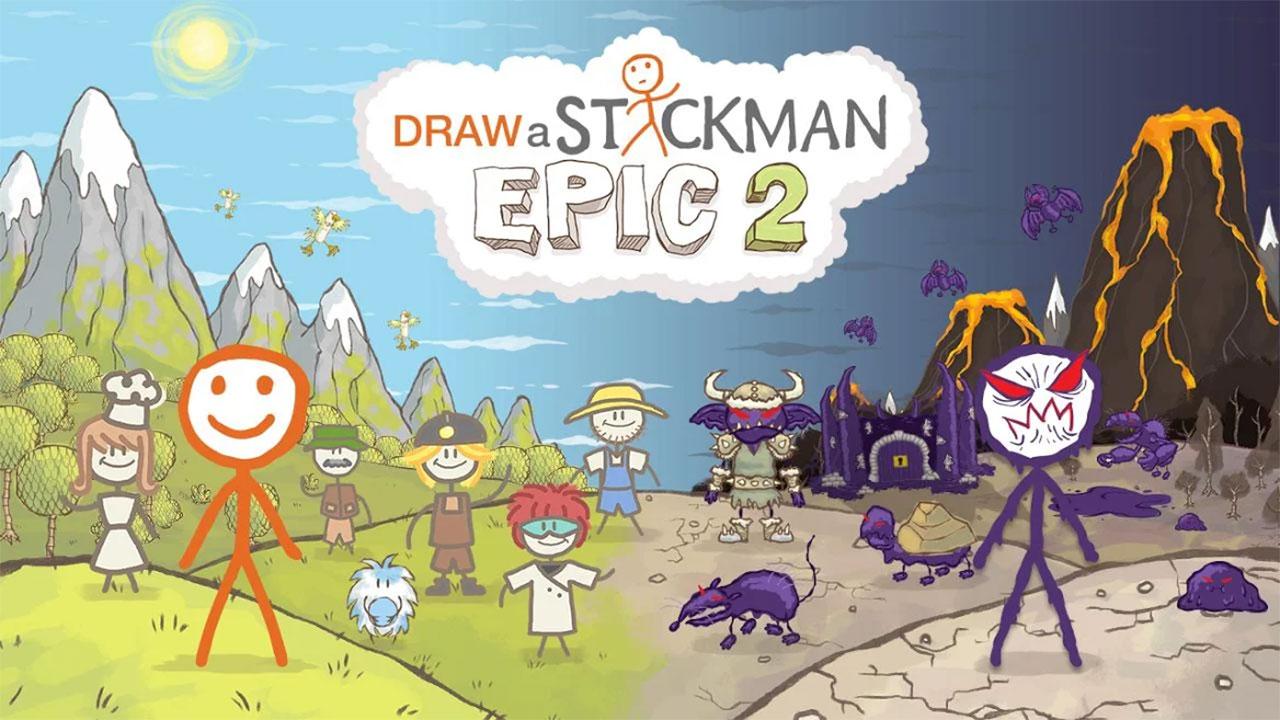 Draw a Stickman EPIC 2 Mod Apk