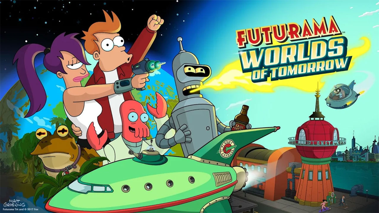 Futurama: Worlds of Tomorrow Mod Apk