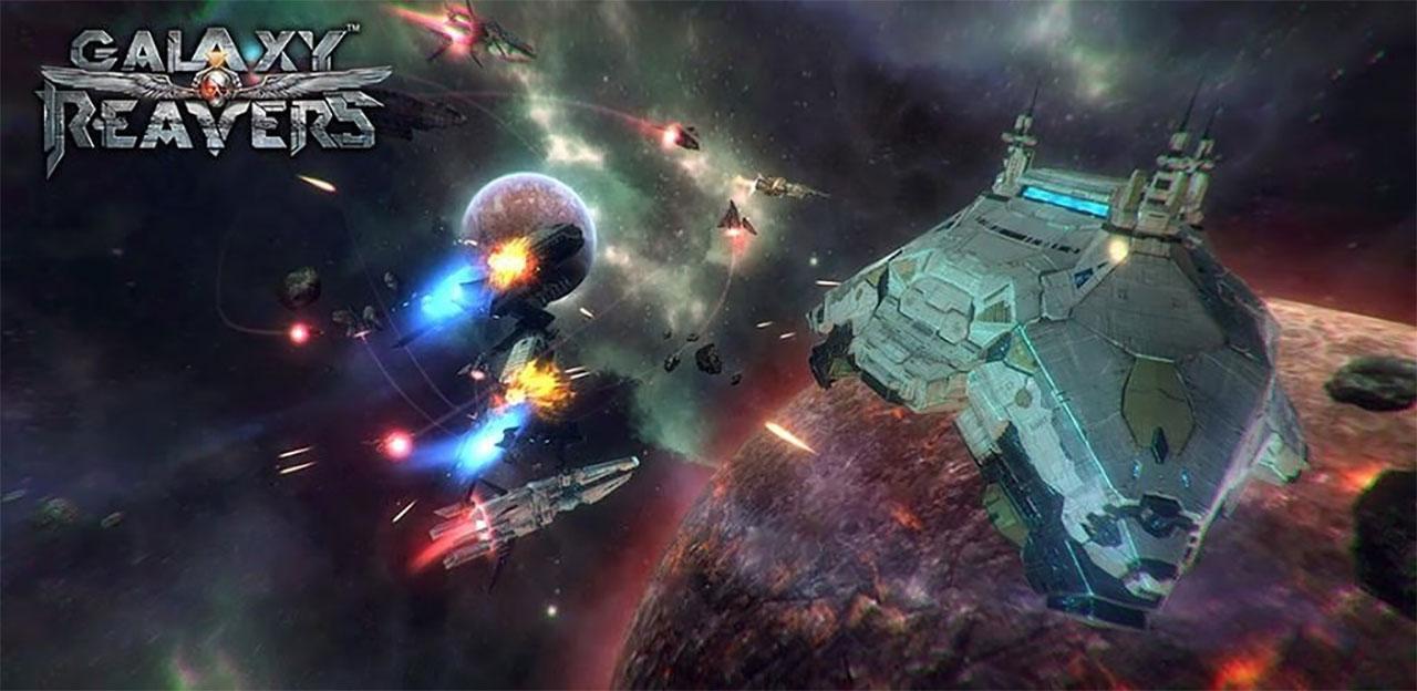 Galaxy Reavers - Starships RTS Mod Apk