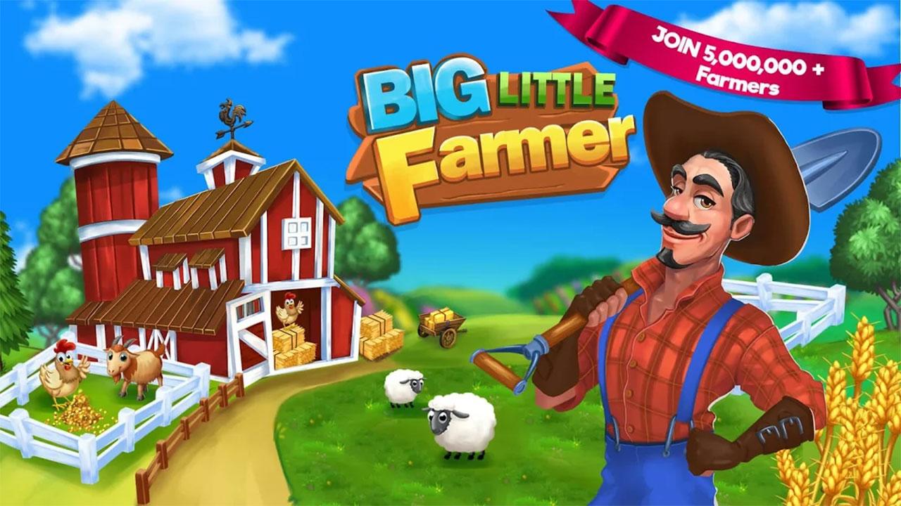 Big Little Farmer Offline Farm Mod Apk