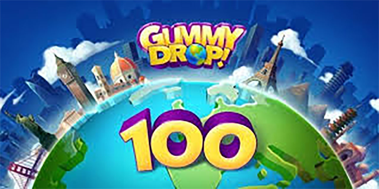 Gummy Drop! Match to restore and build cities Mod Apk