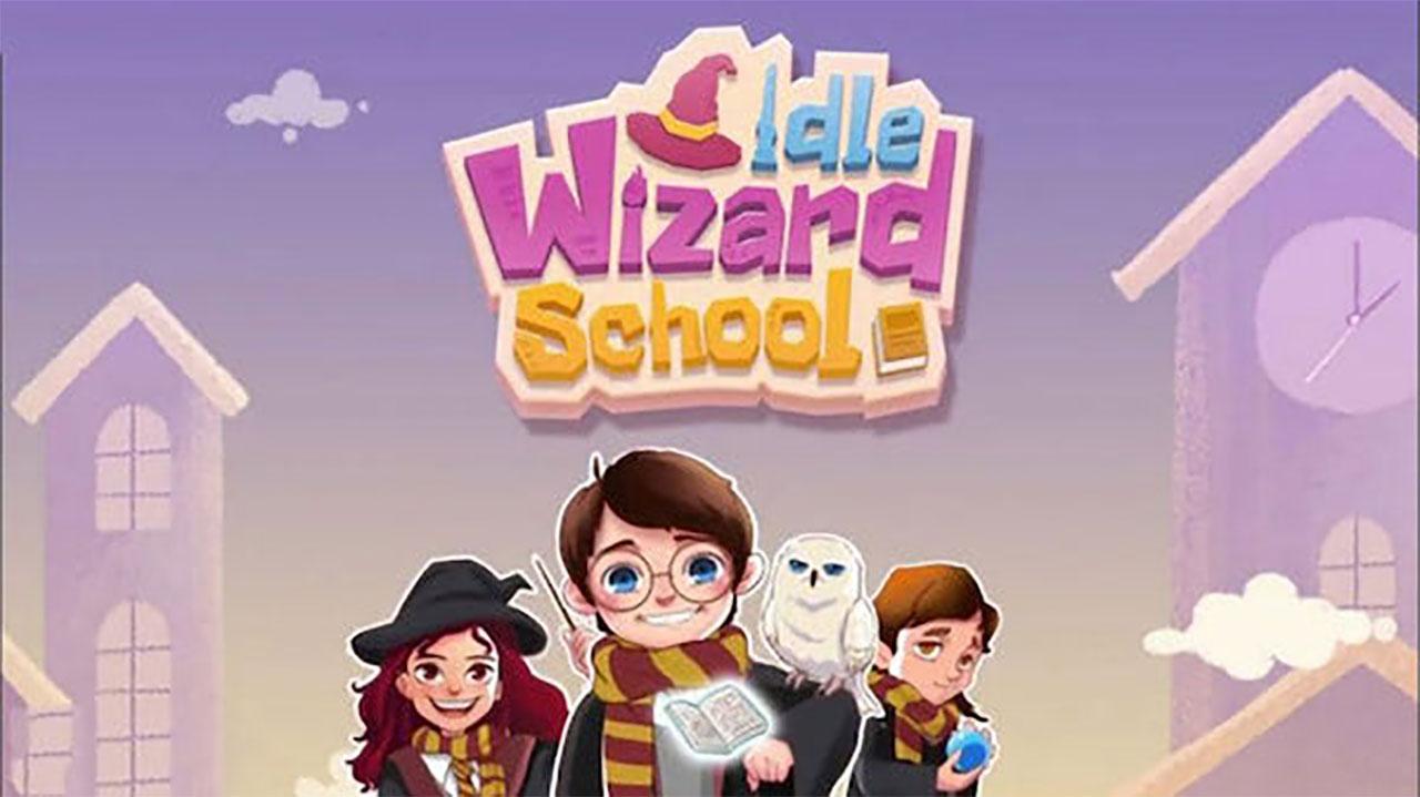 Idle Wizard School - Wizards Assemble Mod Apk