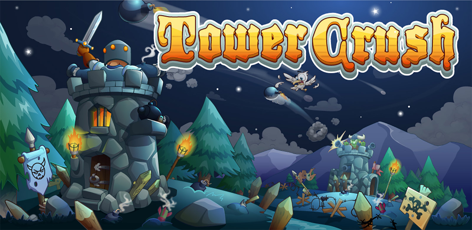 Tower Crush Mod Apk 1.1.43 (Unlimited money)
