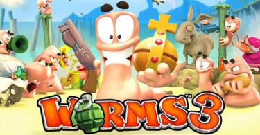 Worms 3 Mod Apk 2.1.705708 (Unlocked)