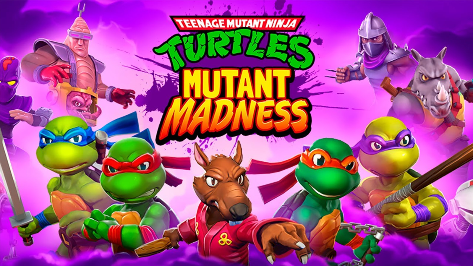 TMNT: Mutant Madness Mod Apk 1.42.0 (Unlimited Skills)
